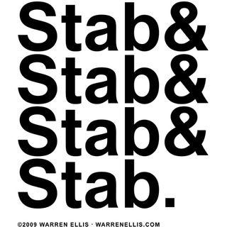 Stab & Stab & Stab & Stab